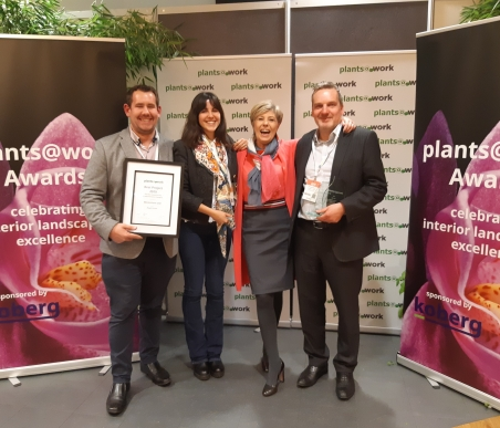 Biotecture collect plants@work awards, March 2019